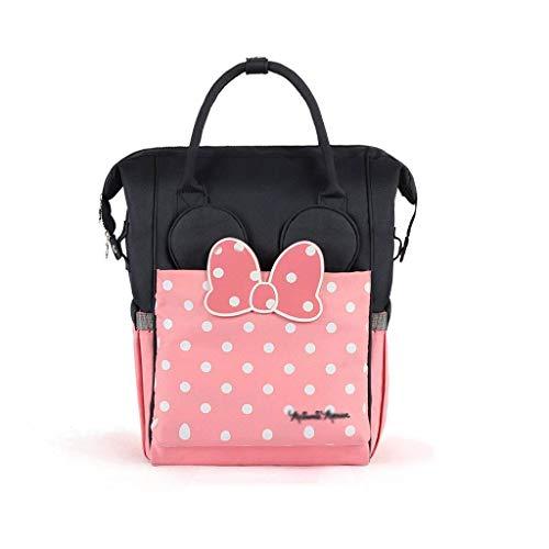 Wickeltasche Rucksack, Wasserdichte Wickelrucksack Tasche, Große Reisetasche für Mutter und Baby geeignet für Jungen/Mädchen auf Reisen,Isolierung paket