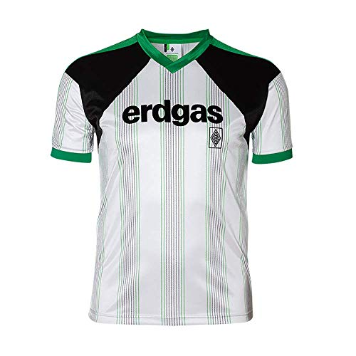 Borussia Mönchengladbach Retro Trikot Heimtrikot 1988 (S)