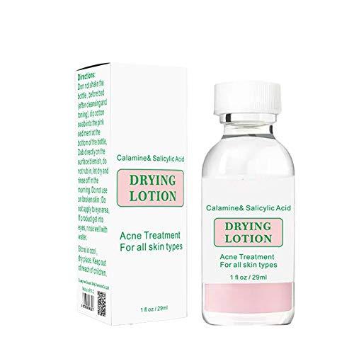 Hankyky traitement de l'acné Essence petite bouteille de poudre traitement de l'acné poudre d'eau acide salicylique traitement de l'acné Essence 29 ml
