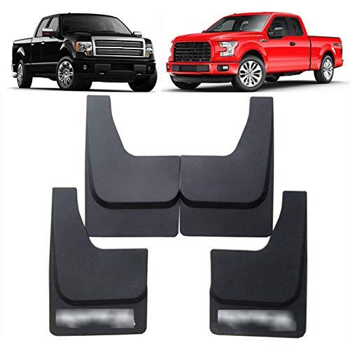 XLTWKK Autodekoration Spritzschutz vorne und hinten Kotflügel Kotflügel 4PCS / Set, für 2005-2019 Ford Raptor F-150