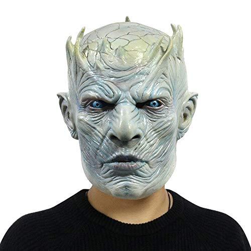 COOGG Halloween rekwisieten decoratie EL glow masker zwart chilly bal party bar