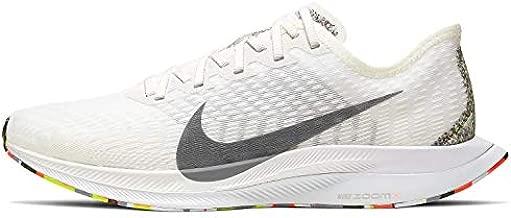 Nike Women's Zoom Pegasus Turbo 2 Anti Winter Running Shoes (White/Multi, Numeric_10)