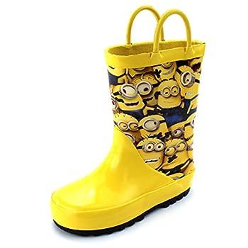 Universal Studios Despicable Me Minions Kids Rain Boots  13/1 M US Little Kid  Yellow