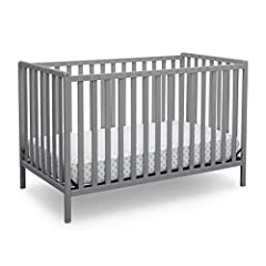 CONVERTIBLE CRIB: Converts from a crib to a toddler bed, daybed and full size bed with headboard (Daybed/Toddler Guardrail Kit #555725 & Full Size Metal Bed Frame #0040 sold separately) GROWS WITH BABY: The 3 position mattress height adjustment on th...