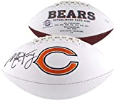 Mitchell Trubisky Chicago Bears Autographed White Panel Football - Autographed Footballs