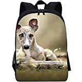 RomantiassLu Mochilas para niños Mochila escolar impresa en 3D dog backpack for kid Mochila Cool para estudiantes para adolescentes niño niña camping y senderismo mochilas 16inch Mochila animal lindo