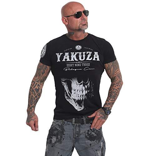 Yakuza Original Herren Daily Skull T-Shirt - Schwarz - Gr. S