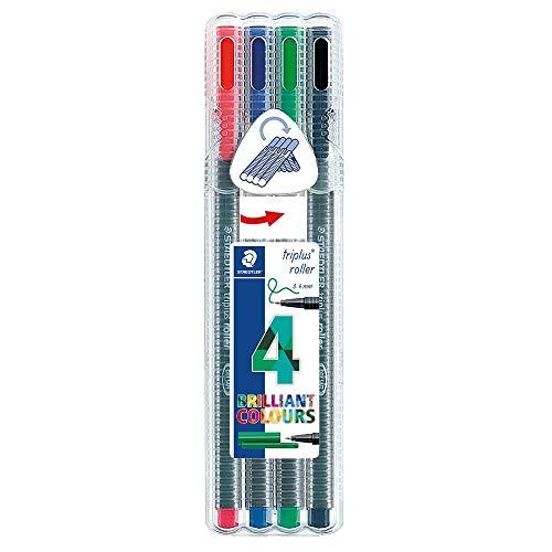 Staedtler Triplus Rollerball Pens, 403SB4