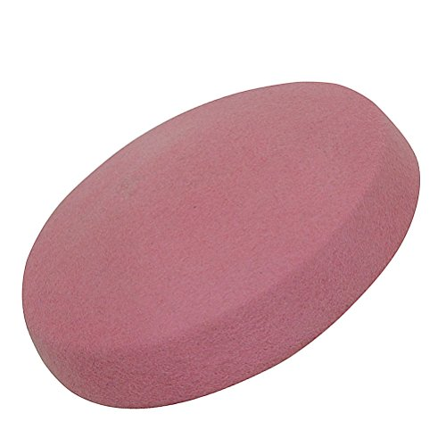 Lawliet Circle Wool Felt Pillbox Beret Hat Millinery Fascinator Base Cocktail Party A215 (Pink)