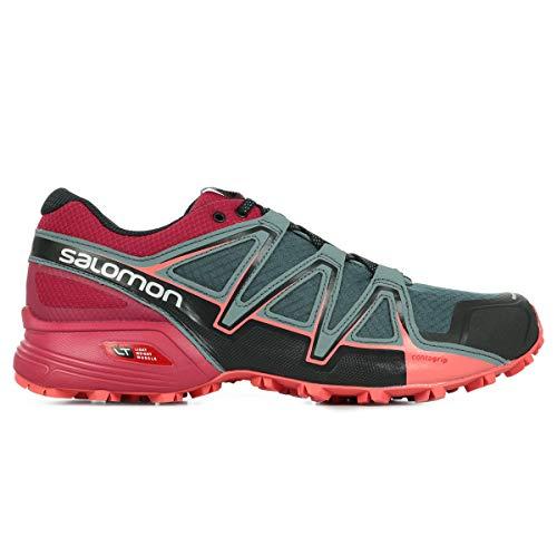 Salomon Speedcross Vario 2 W, Zapatillas de Trail Running para Mujer, Multicolor (Hawaiian Surf/Aquarius/Mykonos Blue 000), 39 1/3 EU