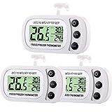 Termómetro Digital de Refrigerador y Congelador Termómetro de Sala de...