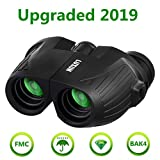 12x25 HD Mini Binoculars for Adults and Kids, SGODDE Compact Folding Binoculars