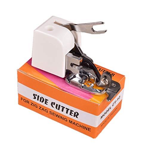1 unids máquina de coser doméstica cortador lateral overlock prensatelas pies pies coser herramientas de conexión