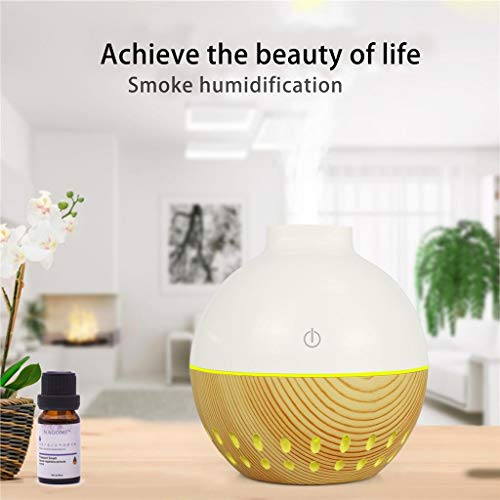RENLEINBJIASHIQI 7-Color LED Humificadores Aromaterapia