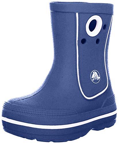 Crocs Crocband Jaunt Kids, Botas de Agua Unisex niños, Azul (Cerulean Blue 4o5), 33/34 EU