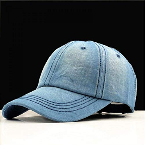 Vita&kki Baseball Cap Dames Dad Caps Heren Merk Homme Hoeden Heren Falt Bone Denim Jeans Blank Plain Dad Cap Hoed