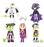 5PCS Teen Titans GO! Cake Toppers for Baby Shower Birthday Party Cake Decoration
