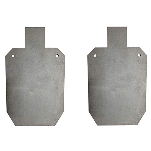 TITAN GREAT OUTDOORS Pair of Titan AR500 Silhouette Style Steel Plate Shooting Targets 20'x12' 3/8' Thick
