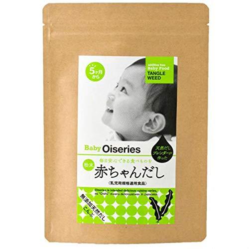 赤ちゃんだし 5か月から 無添加 食塩不使用 離乳食だし 乳児用規格適用食品