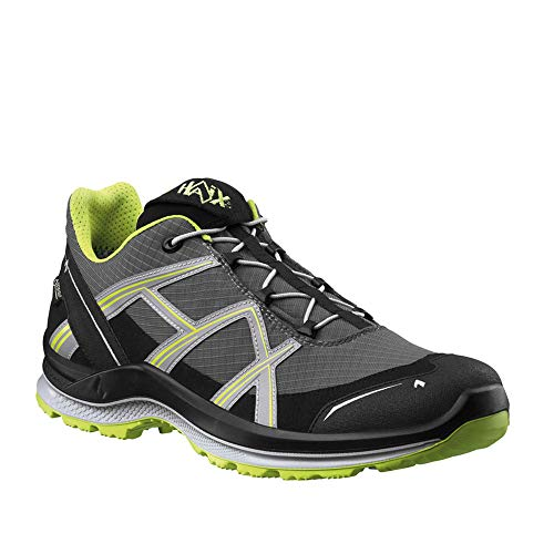 Haix Black Eagle Adventure 2.1 GTX Low/Stone-Citrus Funktionaler Freizeitschuh mit Gore-TEX. 47
