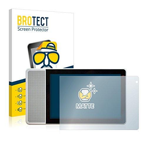"BROTECT Protector Pantalla Anti-Reflejos Compatible con Lenovo Smart Display (10"") (2 Unidades) Pelicula Mate Anti-Huellas"