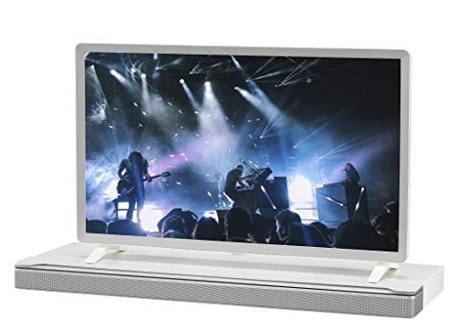 SoundXtra Soporte De Televisión Para Bose SoundTouch 300 y Bose Soundbar 700 - Blanco