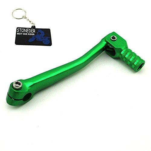 stoneder grün zusammenklappbar Gear Shifter Hebel für 50cc 70cc 90cc 110cc 125cc 140cc 150cc 160cc Motor LIFAN 012765Tastschalter Zongshen Pit Dirt Motor Bike Motorrad