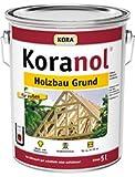 5L Holzschutzmittel Koranol Holzbau Grund Iv. Schützt Holz vorbeugend vor holzzerstörenden Pilzen (Fäulnis), Insekten und Bläue.