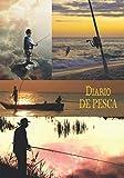 DIARIO DE PESCA: Mantenga un registro de sus lugares de pesca, en este hermoso cuaderno para entusiastas de la pesca | tenga en cuenta el equipo, los ... | ideal como regalo | cubierta flexible