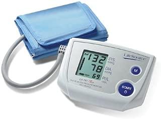 LifeSource UA-767PV One Step Auto Inflate Blood Pressure Monitor with Medium Cuff