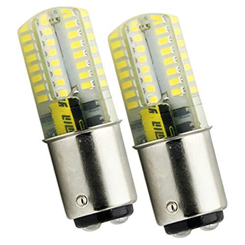 Ymm Bombilla LED B15D, 4 W = 30 W, bombilla halógena B15D, no regulable, CC 12 V, 400 lm, ángulo de 360 grados, CRI > 80Ra, blanco frío 5500 K (2 unidades) [Clase energética A+]