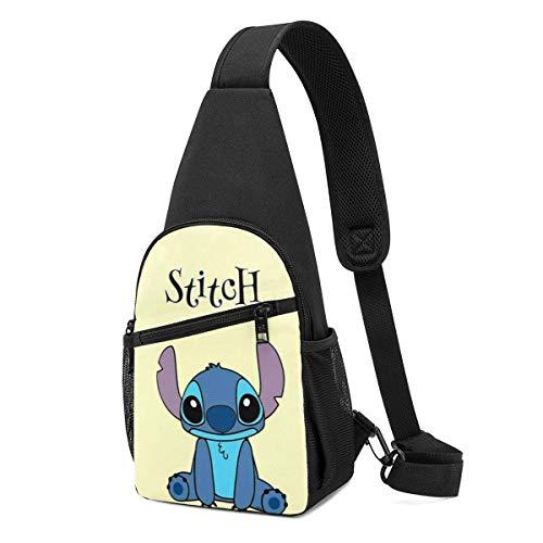 Bolso bandolera – Cool Stitch Crossbody Sling Mochila de viaje, senderismo, bolsa de pecho para mujeres y hombres