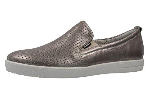 Romika Slipper Nadine 12 en tallas grandes plata 50012 49 730 zapatos...