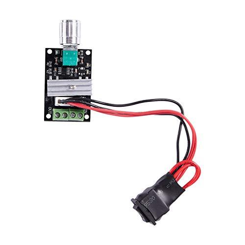 Haudang 1203B controlador de velocidad del motor de 6 V, 12 V, 24 V, 3 A, PWM