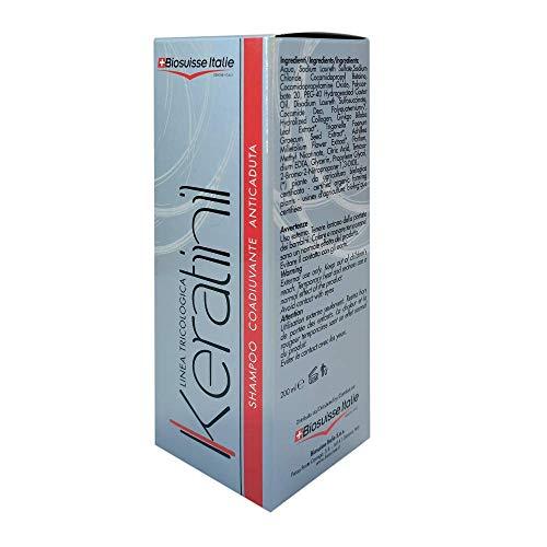 Shampoo Anticaduta Tricologico Professionale KERATINIL 200ml - Energizzante per prevenzione e ricrescita capelli uomo e donna
