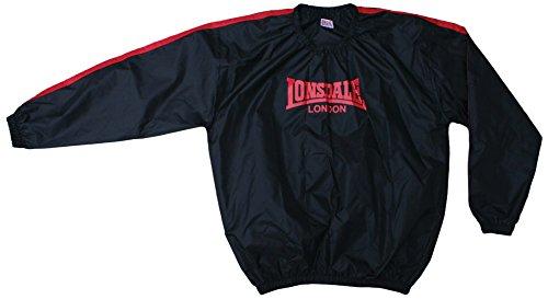 Londsdale, Felpa da Boxe Uomo Lightweight, Nero (Black), XXL