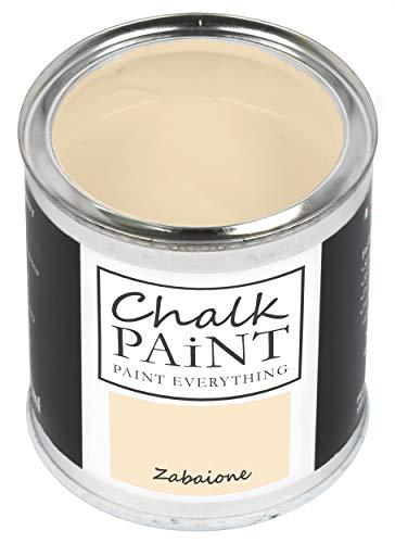Everything CHALK PAINT Zabaione 250 ml - SENZA CARTEGGIARE Colora Facilmente Tutti i Materiali…