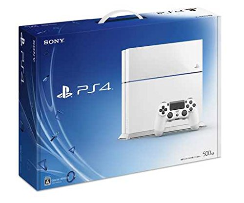 PlayStation4 グレイシャー・ホワイト 500GB (CUH1100AB02)【メーカー生産終了】