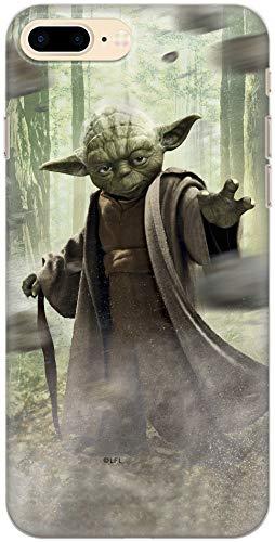 Carcasa de TPU Original de Star Wars Yoda para iPhone 7 Plus, iPhone 8 Plus, Funda de Silicona líquida, Flexible y Delgada, Protectora para Pantalla, a Prueba de Golpes y antiarañazos