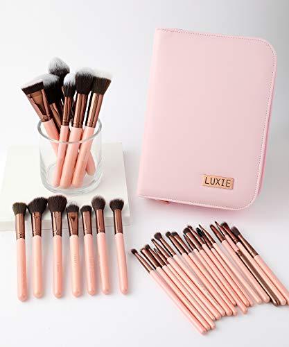 Luxie Rose Gold 30 Piece Brush Book Set