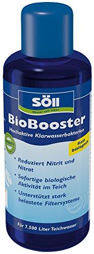 Söll 12632 BioBooster - Hochaktive Klarwasserbakterien beseitigen erhöhte Nitrit- und Nitratwerte - 250 ml