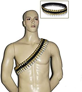 Funny Fashion Bullet Belt Ammo Short 2D Army Bandolier Costume Accessory Party Decoration