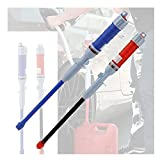HCHL Bomba de Agua Bomba DE Agua POTIDAD POCER ELECTRIO DE Curso DE Combustible DE Combustible Bomba DE SUCCIÓN Transferencia LÍQUIDO FUNCIONADA Bomba de Agua Sumergible (Color : Blue)