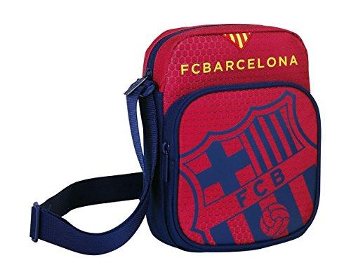 Safta 048413 F.C. Barcelona Bolso Bandolera, Color Azul y Granate