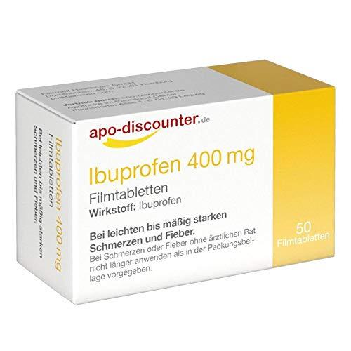 Ibuprofen 400 mg Apodiscounter Filmtabletten (50 stk)