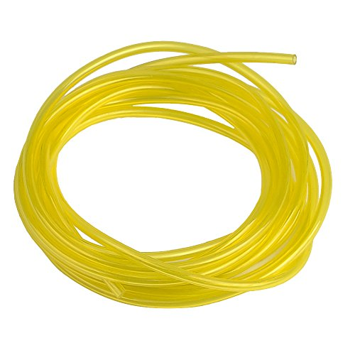 """Hipa 10-Feet (3-Meter) Petrol Fuel Line Hose I.D 1/8"""" x O.D 3/16"""" Tubing for Small Engines Weedeater Chainsaw Leaf Blower"""