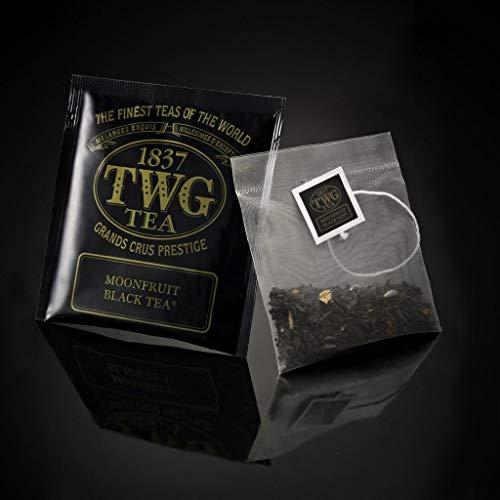 シンガポールの高級紅茶TWGシリーズ(Moonfruit Black Tea - Moonfruit紅茶)- (bulk box) バルクボックス 100ティーパック- 並行輸入品