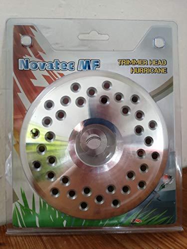 Tête de coupe Hurricane - Tête de fil pour débroussailleuse, coupe-bordure, avec bobine de fil/fil de coupe 4,4 mm x 30 m
