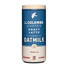 READY TO DRINK: Experience the full taste and texture of a true cold draft latte in 16 convenient, pre-made, chilled cans. REAL INGREDIENTS: Plant-based with sustainably sourced lactose-free oatmilk used in every can. Made with real vanilla and 100% ...