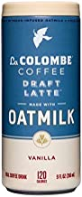 La Colombe Oatmilk Coffee Draft Latte PlantBased, DairyFree Made With Real Ingredients Grab And Go Coffee, Vanilla, 108 Fl Oz